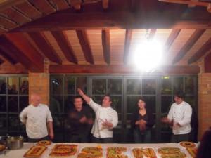 "5 Sensi final Party at ""Osteria del Borro"""