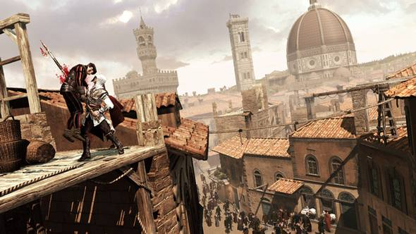 Assassin's creed II :: A view of Florence
