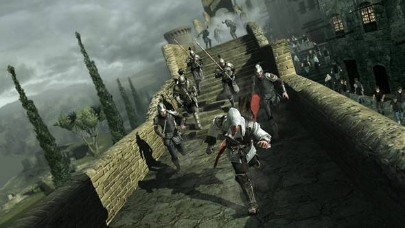 Assassin's Creed II : A scene from the Video Game