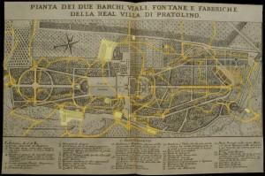 Map of Pratolino