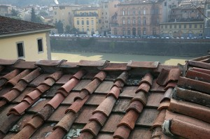 A roof with a view, Florence historical center