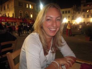Joelle Edwards, wedding planner in Florence