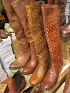 Traditional Leather Florentine Boots