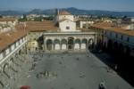 Veduta di piazza Santissima Annunziata