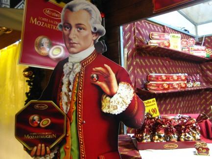 Mozart Chocolate Marzipan Nougat Balls