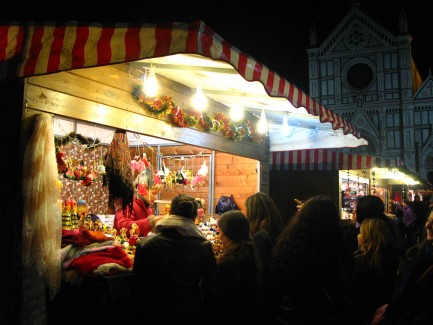 Christmas Market Florence, Italy