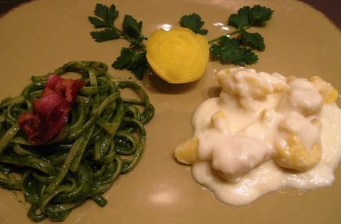Restaurants in Florence Italy Pancetta Pasta Pecorino Cavalo Nero