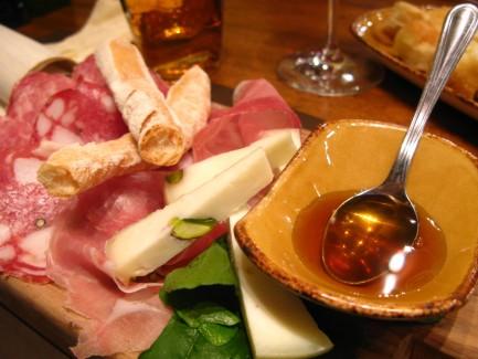 Restaurants in Florence Italy Pecorino Prosciutto Salami