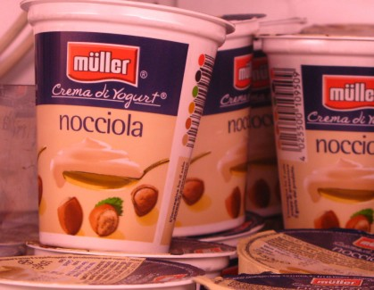 Muller Crema di Yogurt Italian Hazelnut