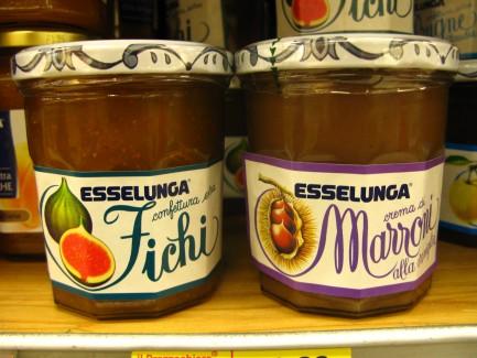 Italian Crema Di Marroni Alla Vaniglia Confettura di Fichi