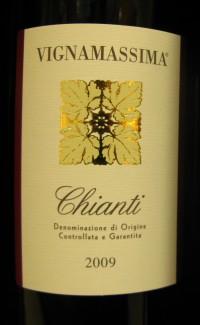 Italian Wine Chianti Classico D.O.C.G. Label