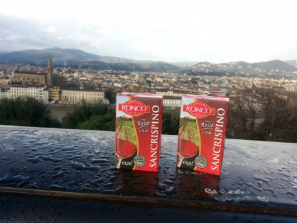 Wine in a juicebox? Mi fa cagare!