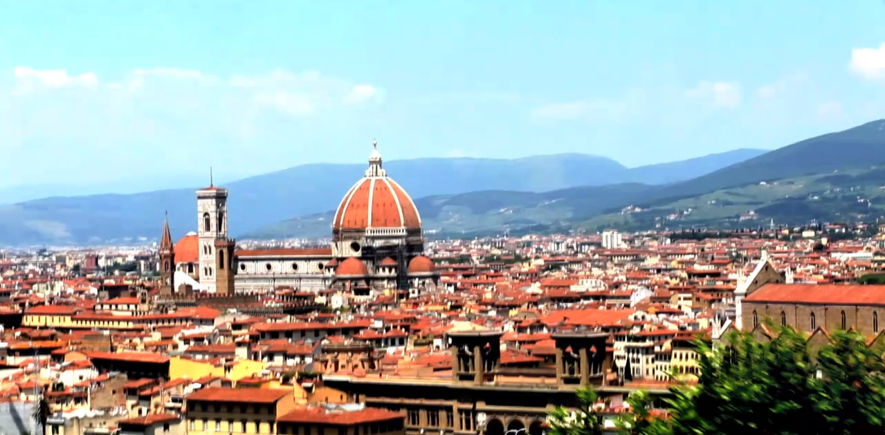 Florence Italy From Piazzale Michelangelo