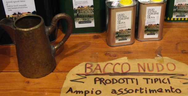 Vino Sfuso and Typical Italian Products in Florence Italy