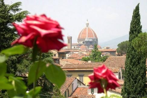 Florence Italy Giardino delle Rose
