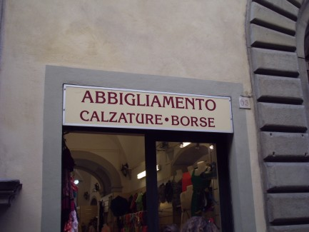 Where to Shop in Florence Italy