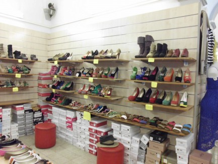Italian Shoes in Style in Florence Italy