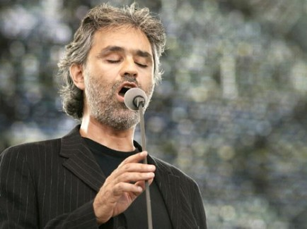Andrea Bocelli To Perform In Florence Italy