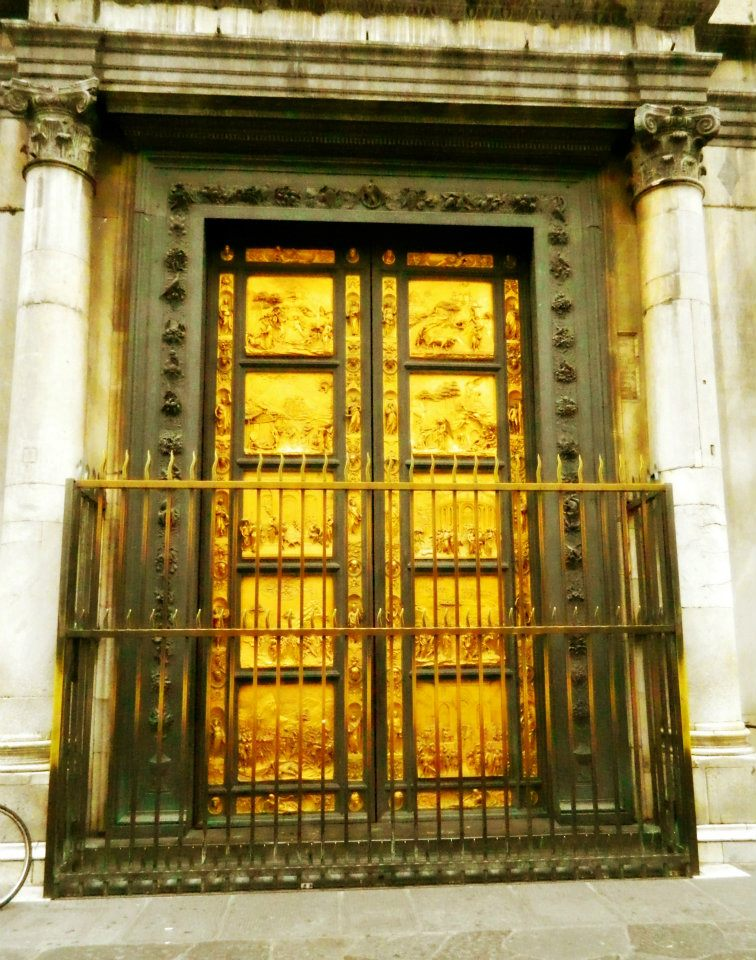 The Golden Doors or Gates of Paradise, Florence Italy
