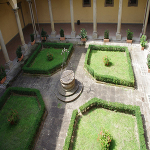 Garden in Florence Italy