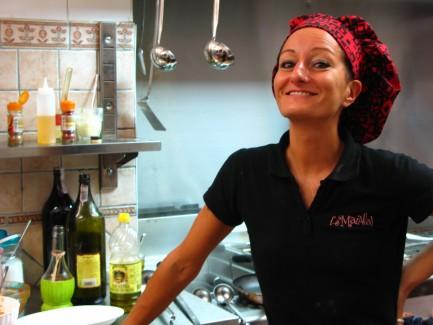 Chef Maria Osteria L'è Maiala Firenze Itala