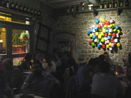 Osteria L'é Maiala Inside Florence Italy