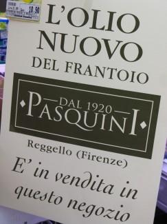 Olio Nuovo Firenze Italia