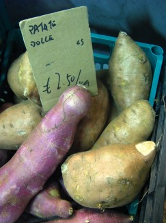 Yams in Florence Italy