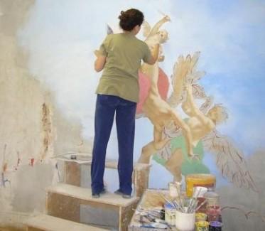 Firenze Fresco Painting