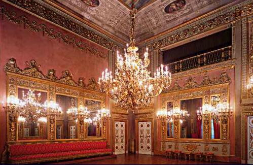 Sala dei Specchi Palazzo Borghese Firenze