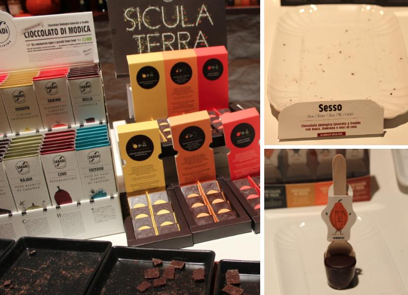 Cioccolato di Modica Pitti Taste Firenze