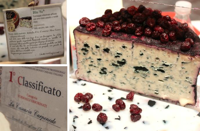 formaggio erborinato Pitti Taste firenze