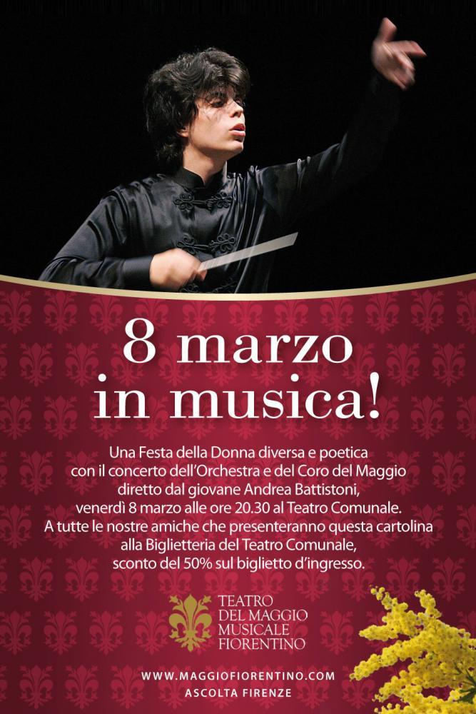 Maggio Musical Firenze Festa della Donna