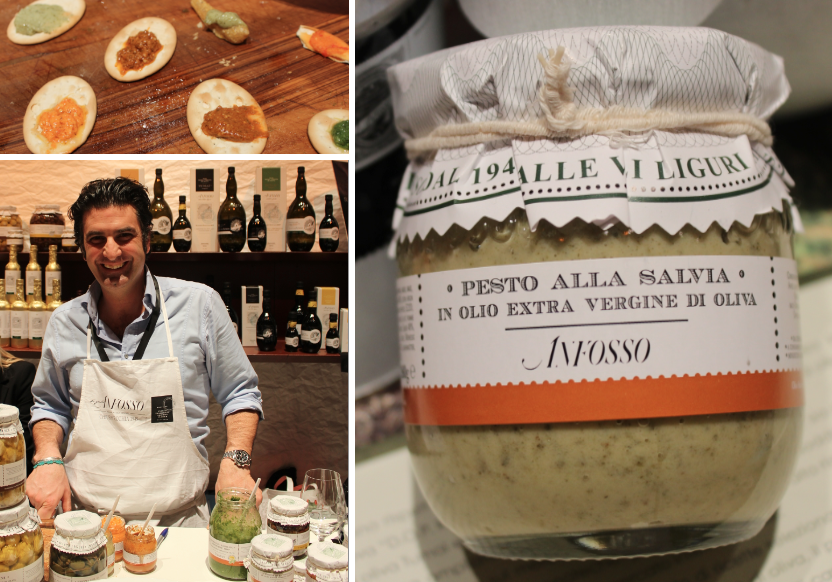 Pesto alla Salvia Pitti Taste Firenze
