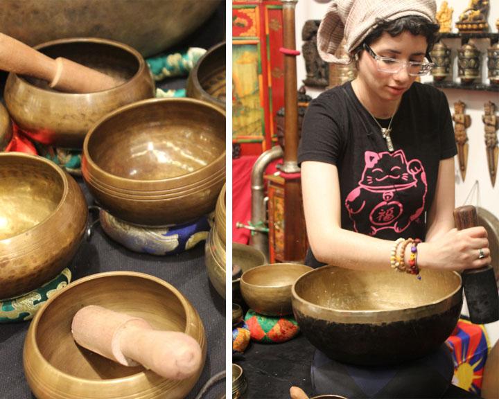 Campane Tibetane Mostra Internazionale dell'Artigianato Firenze