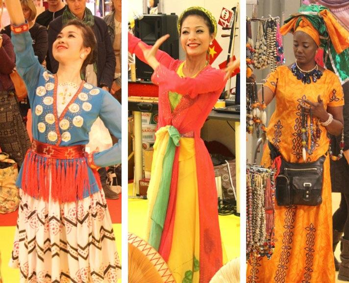 Vestiti Tradizionale Mostra internazionale dell'artigianato Firenze