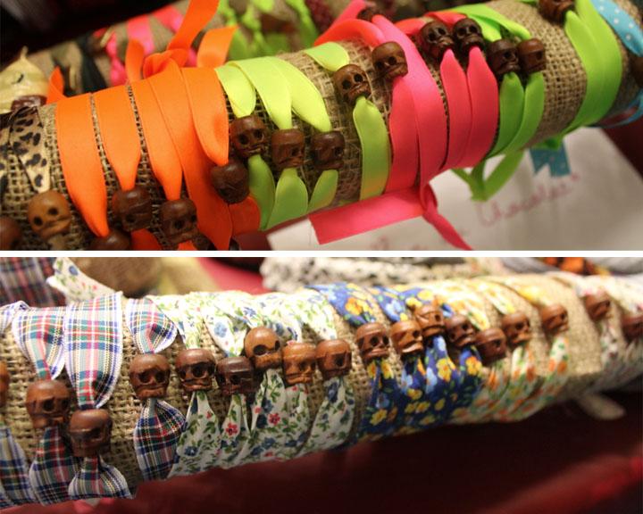 Braccialetti di teschio tibetano Mostra Internazionale dell'artigianato firenze