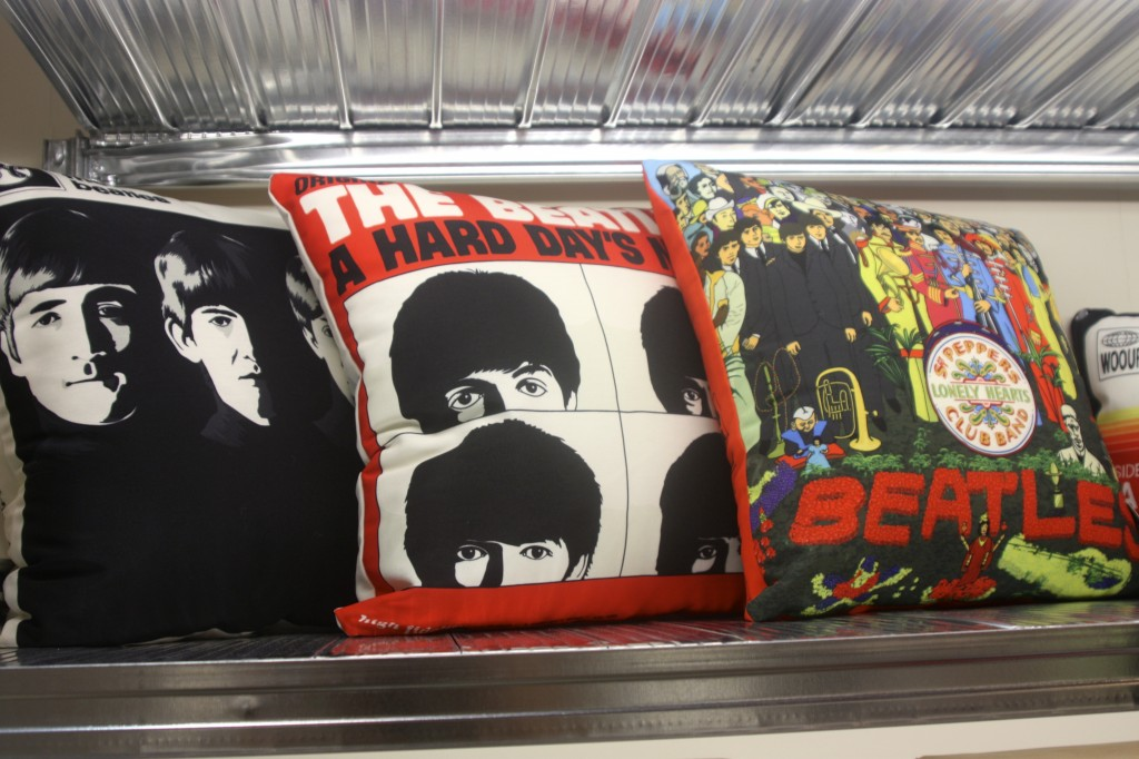 lost and found beatles pillows