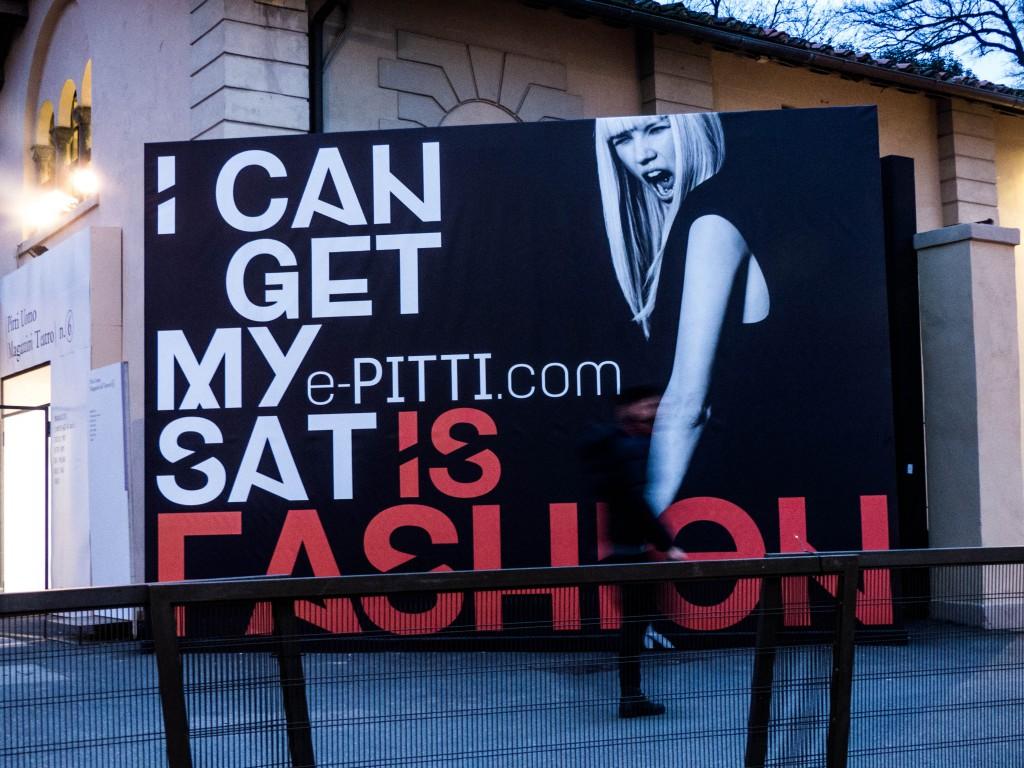 Fashion billboard advertising