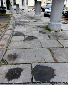 Florence cobblestones