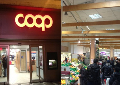 Coop Grocery store in Florence