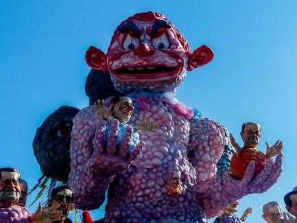 Giant Carnevale Virareggio floats
