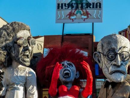 Viareggio Hysteria float