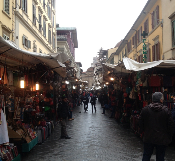 Market in Florence, Italy