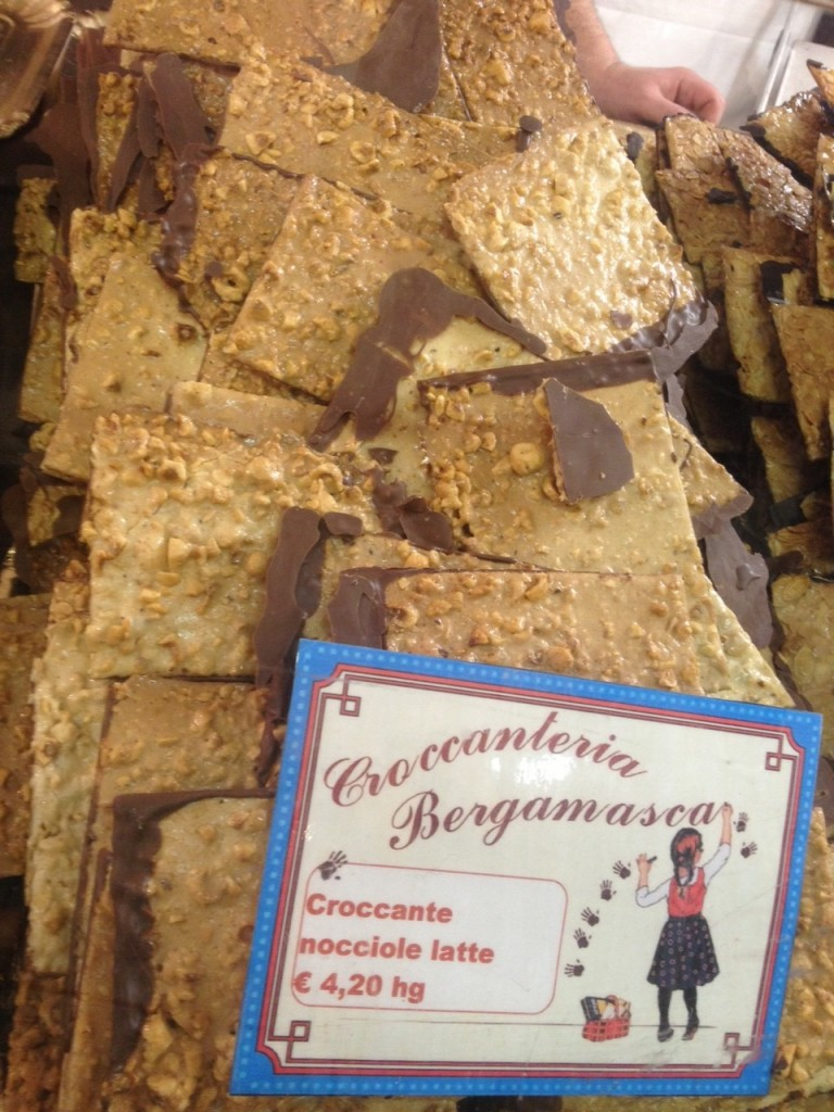 Artisan chocolate fair brittle