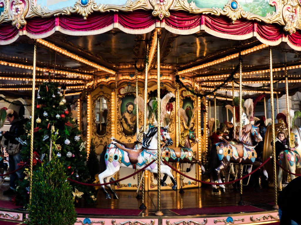Florence Italy Carousel
