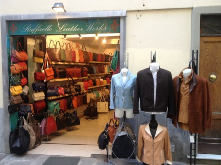 leather shop firenze