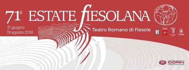 Estate Fiesolana 2018 at the ancient roman theatre
