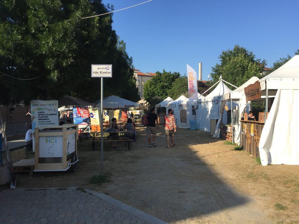 Parco del Cavaticcio stand