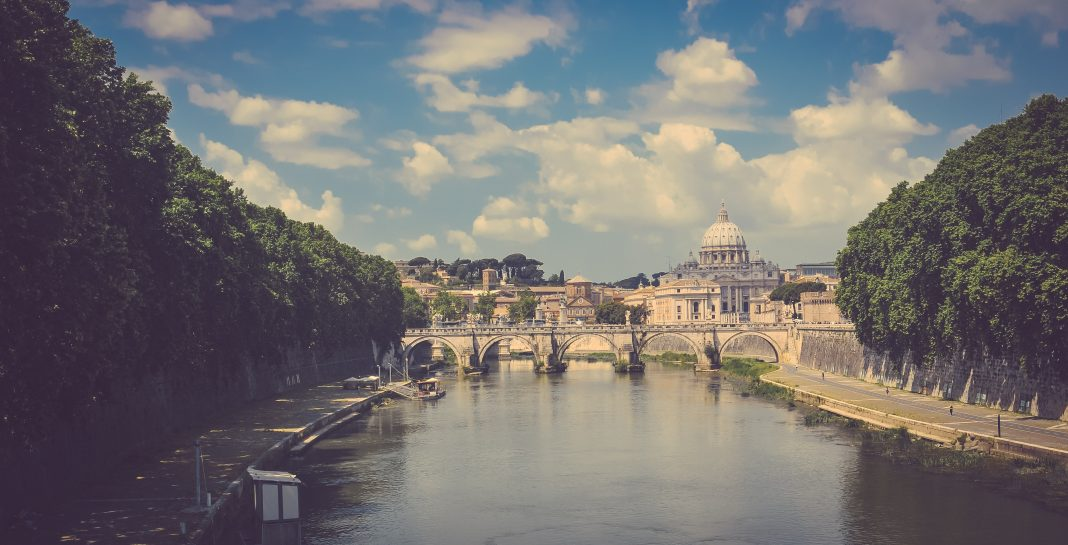 Spring weather Rome Italy